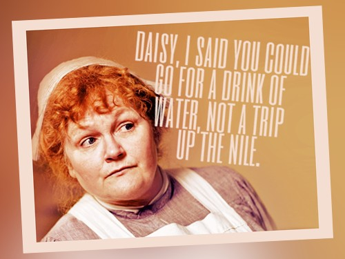 Stuff Mrs. Patmore Says… about Applesauce | Downton Abbey Cooks