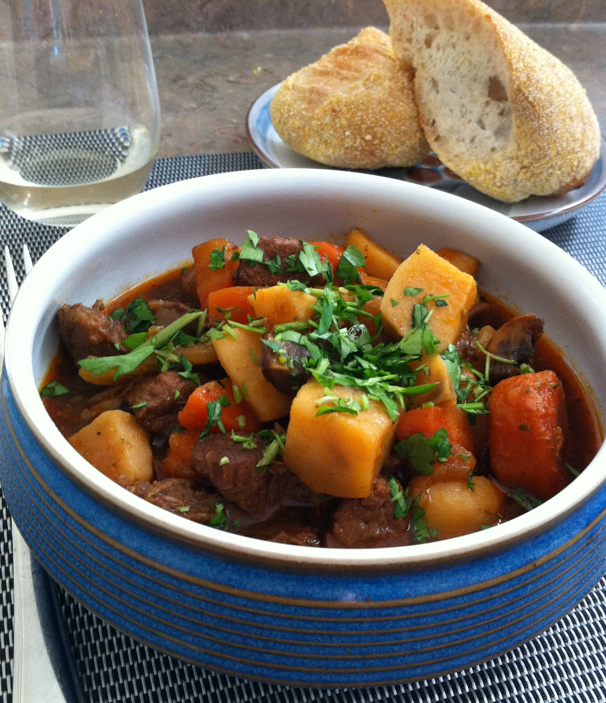 Irish Stew serving