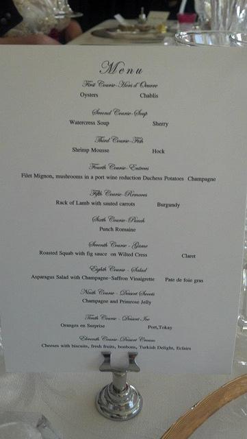A Grand Edwardian Feast And A Rhubarb Pie Downton Abbey